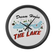 Dream House Large Wall Clock