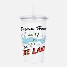 Dream House Acrylic Double-wall Tumbler