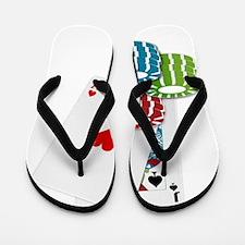 Black Jack Flip Flops