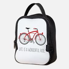 Life is a Wonderful Ride Neoprene Lunch Bag