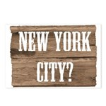 New York City? Postcards (Package of 8)