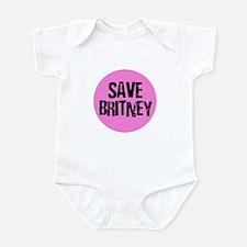 Save Britney Infant Bodysuit