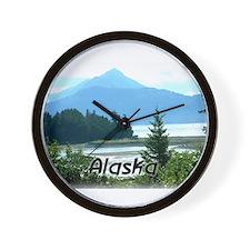 Alaska Scenic View Wall Clock