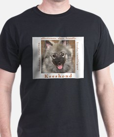 Cute Keeshound breed T-Shirt