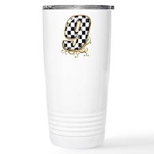 Cute Checkered flag Travel Mug