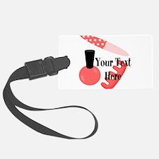 Personalizable Manicure Set Mani Pedi Luggage Tag