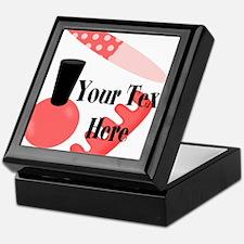 Personalizable Manicure Set Mani Pedi Keepsake Box