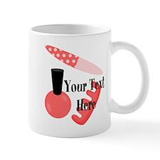 Personalizable Manicure Set Mani Pedi Mugs