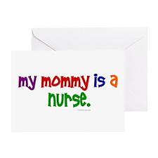 My Mommy Is A Nurse Greeting Card