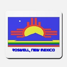 Roswell NM Flag Mousepad