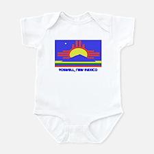 Roswell NM Flag Infant Bodysuit