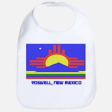Roswell NM Flag Bib
