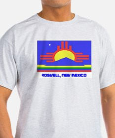 Roswell NM Flag T-Shirt