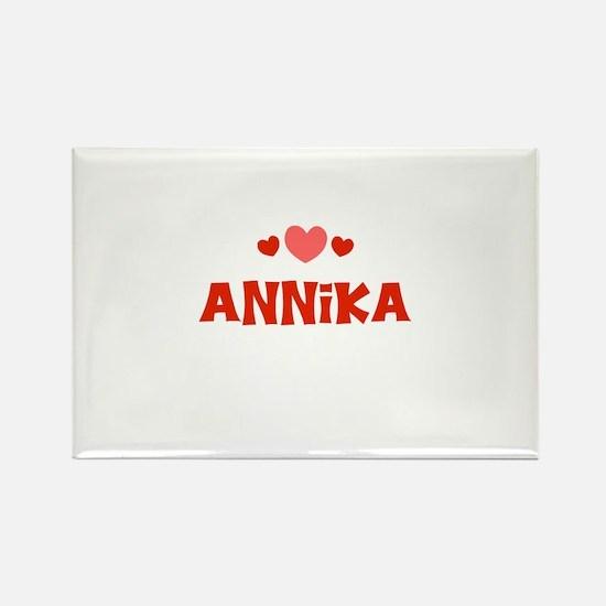 Annika Rectangle Magnet
