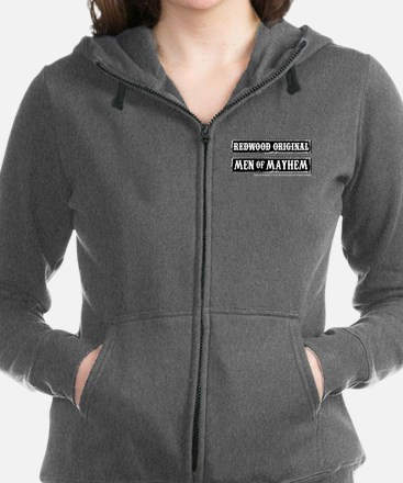 soa men of mayhem Women's Zip Hoodie