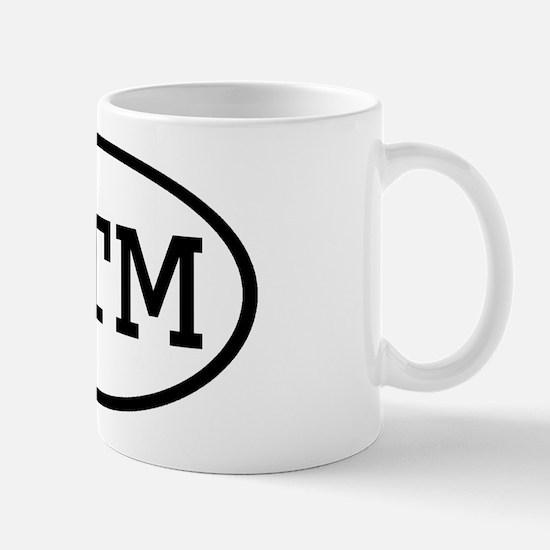 ITM Oval Mug