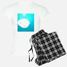 Fat Beluga Whale Pajamas
