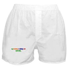 My Mommy & Daddy Are Nurses Boxer Shorts
