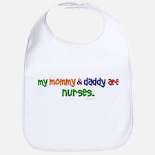 My Mommy & Daddy Are Nurses Bib