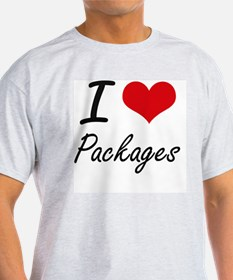 I Love Packages T-Shirt