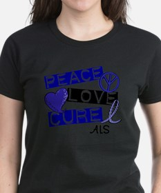 Cute Liver cancer peace love cure Tee