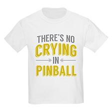 No Crying In Pinball T-Shirt