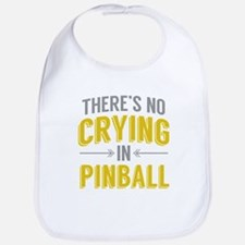 No Crying In Pinball Bib
