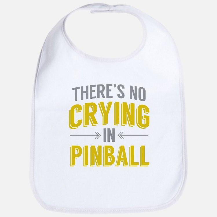No Crying In Pinball Bib