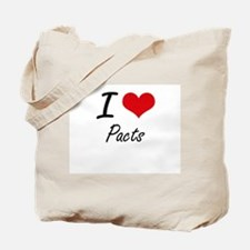 I Love Pacts Tote Bag