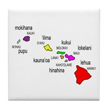 Islands of Hawai'i Tile Coaster