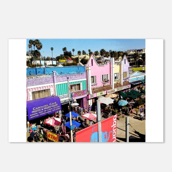 Pastel Row Postcards (Package of 8)