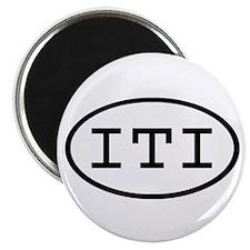 ITI Oval Magnet