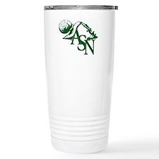 Green ASN Basic Logo Travel Mug