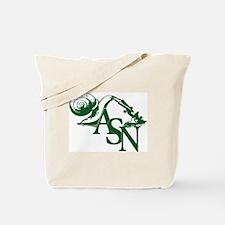 Green ASN Basic Logo Tote Bag