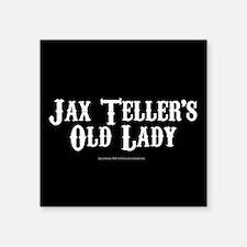 "SOA Old Lady Square Sticker 3"" x 3"""