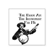 banjoam.jpg Sticker