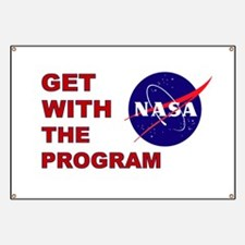 GET WITH THE PROGRAM Banner