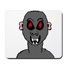Halftone Zombie Ape Mousepad