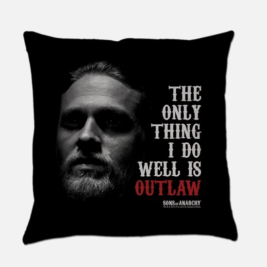 SOA Outlaw Everyday Pillow