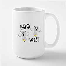 Boo Bees-WH Large Mug
