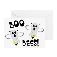 Boo Bees-WH Greeting Card