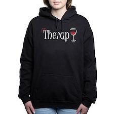 Cute Merlot Women's Hooded Sweatshirt