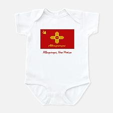 Albuquerque NM Flag Infant Bodysuit