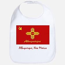Albuquerque NM Flag Bib