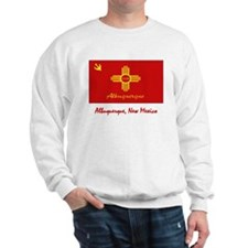 Albuquerque NM Flag Sweatshirt
