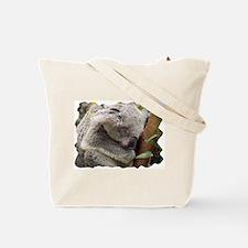 Sleeping Koala Bear Tote Bag