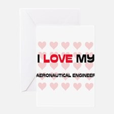 Cute Aeronautical engineering Greeting Card