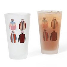 Back to the Future Years Drinking Glass