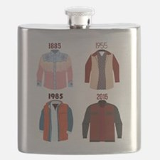 Back to the Future Years Flask