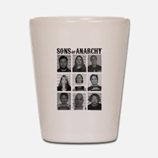 SOA Mugshots Shot Glass
